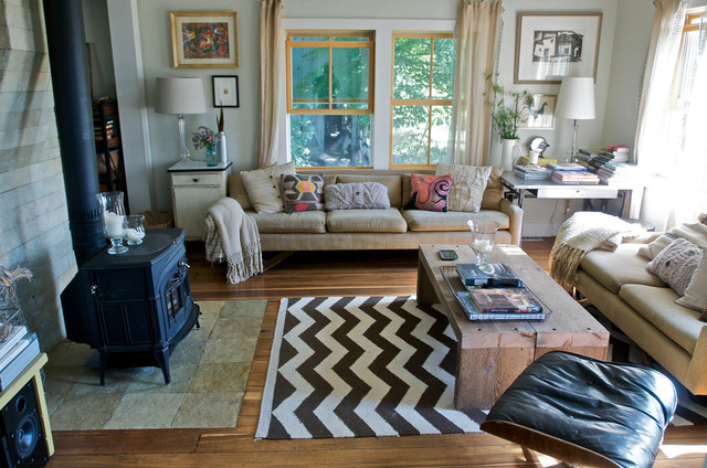 Michigan farmhouse eclectic