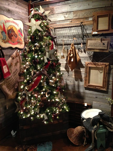 Western Christmas Decor - Rustic - atlanta - by Iron Accents