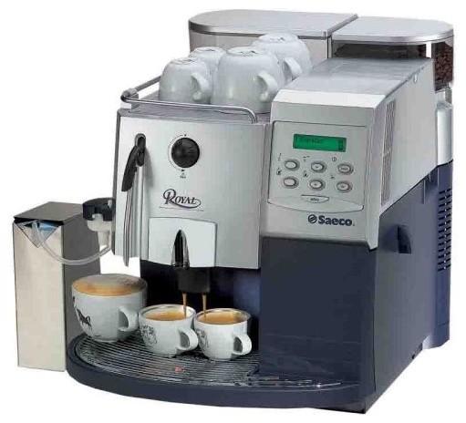 Saeco Royal Coffee Bar Espresso Machine contemporary-coffee-and-tea-makers