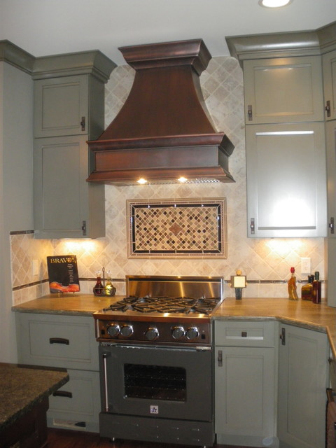 Copper Range Hoods - traditional - kitchen hoods and vents - by