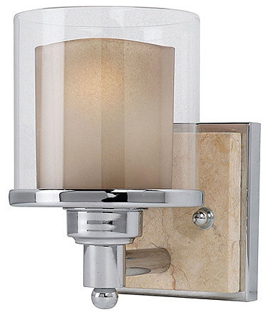 Kelsey 1-Light Vanity traditional-bathroom-vanity-lighting