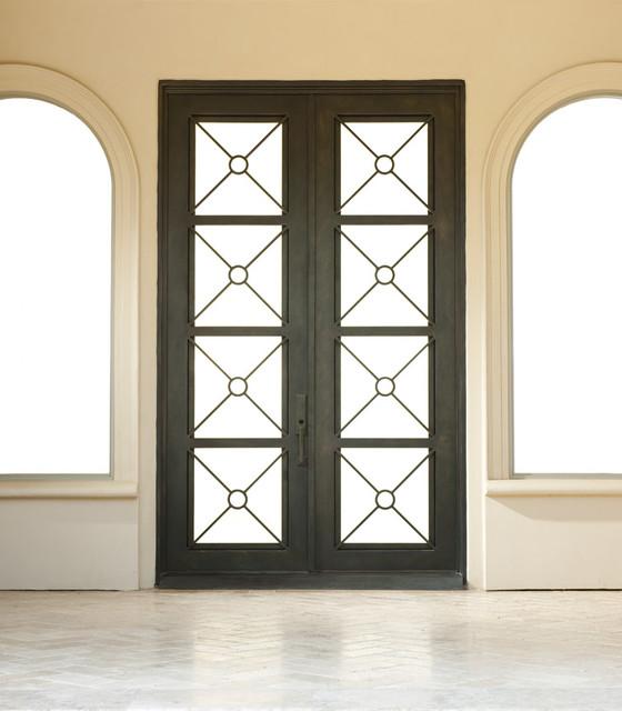 Contemporary Iron Door Windows And Doors