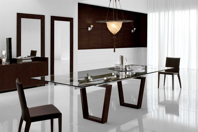 Targa Extensible Dining Table By Cattelan Italia - modern - dining