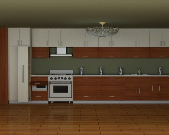kitchen cabinet 007 - design free, customized, top quality, with bench top and top stainless steel sink