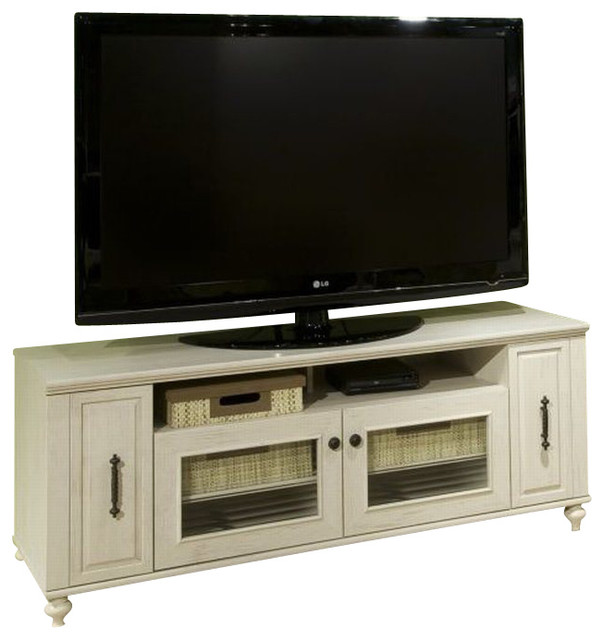 Kathy Ireland by Bush Volcano Dusk TV Stand in Driftwood Dreams - Modern - Entertainment Centers ...
