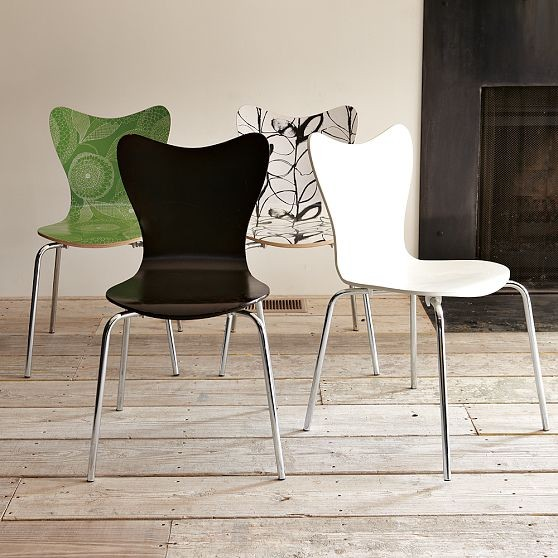 Scoop-Back Chair modern-armchairs-and-accent-chairs