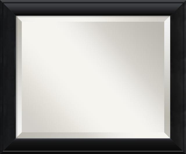 Nero Black Wall Mirror traditional-mirrors