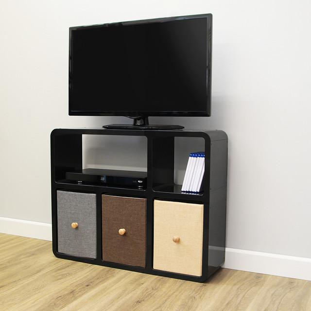 Modern Media Unit: Media Unit Style 6 - Modern - TV Stands & Units