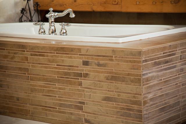 Timber Frame Bathroom Remodel contemporary-bathroom