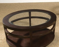 Hammary Urbana Round Coffee Table contemporary-side-tables-and-end-tables