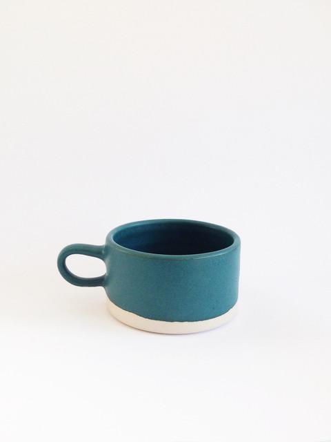 Copenhagen Latte Mug contemporary-mugs