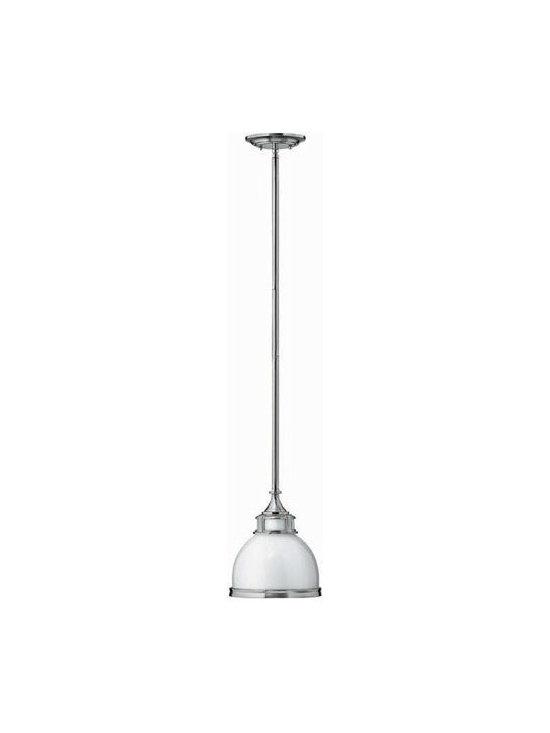 Hinkley Lighting 3102BN 1 Light Pendant Mid-Pendant Collection -