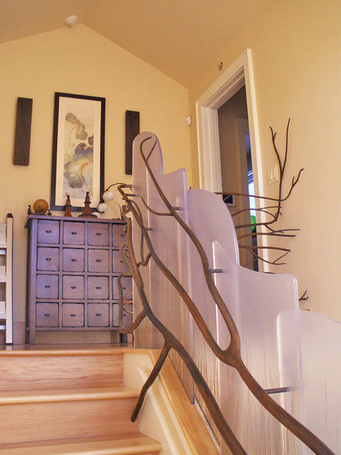 Stairwell eclectic-staircase
