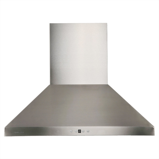 """Range Hood 36"""" - Cavaliere, Wall Mounted modern-gas-ranges-and-electric-ranges"""