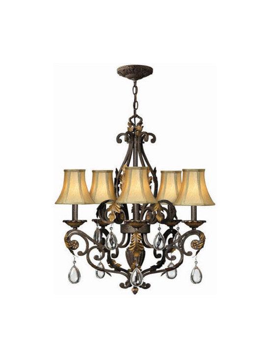 Hinkley Lighting 4806SU 5 Light Chandelier Veranda Collection -