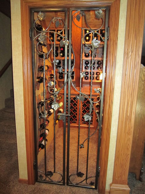 My Iron Wine Cellar Door Creations - Traditional - Interior Doors - other metro - by Leo's ...