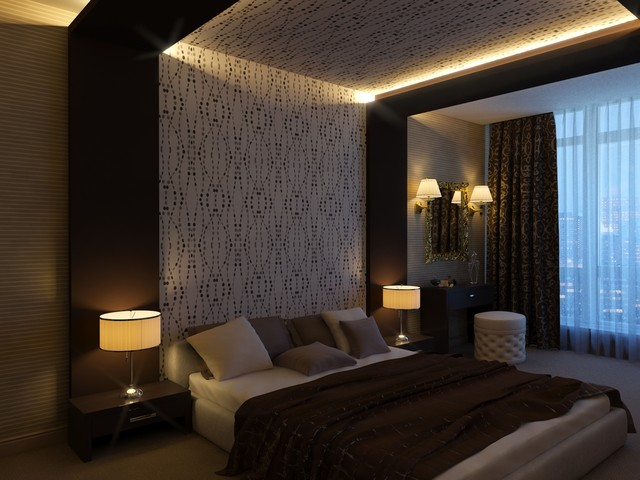 modern bedroom by Sergey