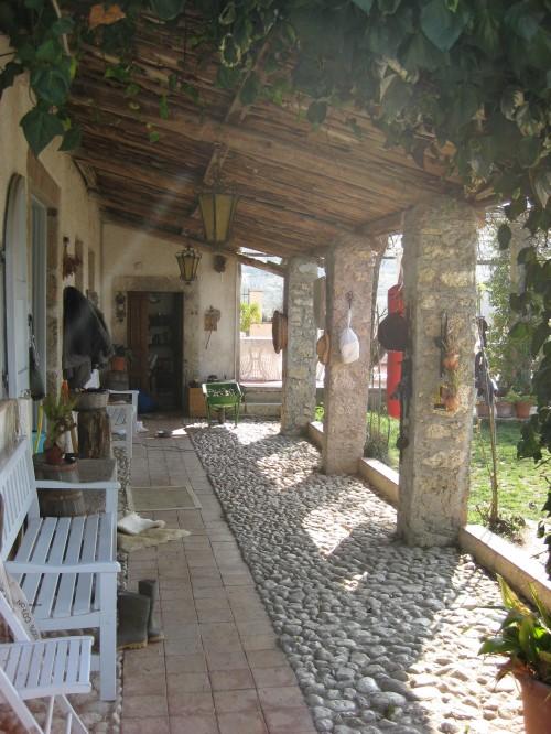Italian farmhouse garden please help for Garden loggia designs
