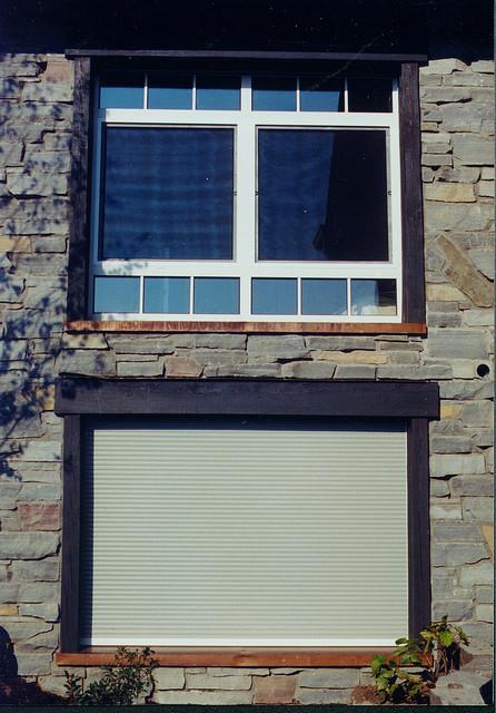 Shutters Installed Into Window Frames - Modern - Roller Blinds - cedar rapids - by Talius