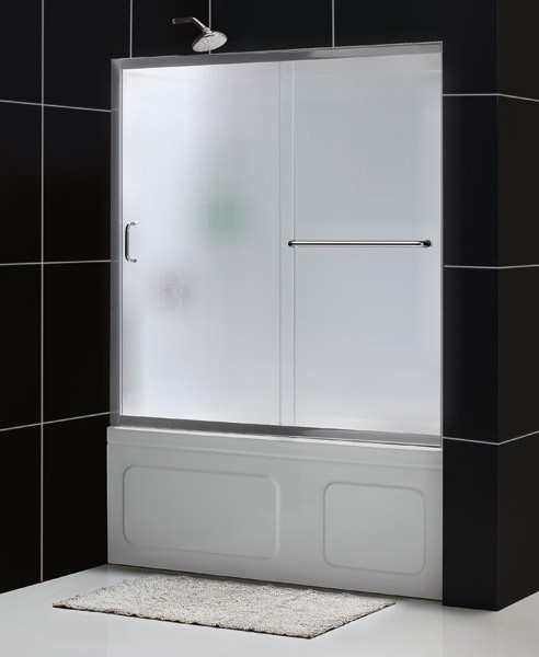 DreamLine SHDR-0960580-01-FR Infinity-Z Tub Door modern-showers