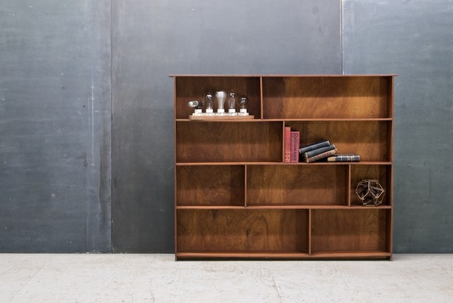 Craftsman Walnut Display Book Case - Eclectic - Display And Wall Shelves - dc metro - by ...