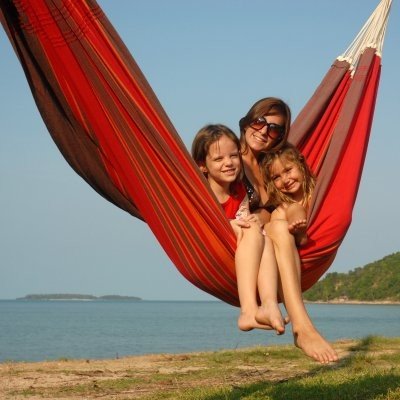 Byer of Maine Paradiso Double Hammock contemporary-hammocks-and-swing-chairs