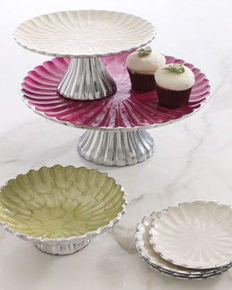 Julia Knight Peony Cake Stand traditional-serving-utensils