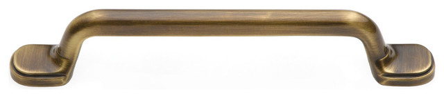B1-5-AB antique brass Classic Suite cabinet handle traditional-cabinet-and-drawer-handle-pulls