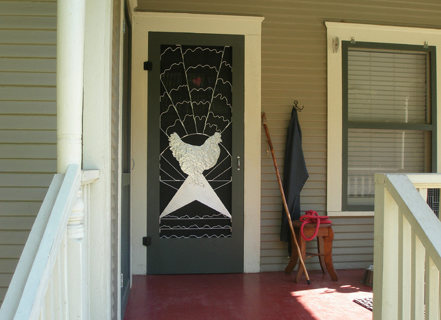 traditional screen doors by Susan Wallace
