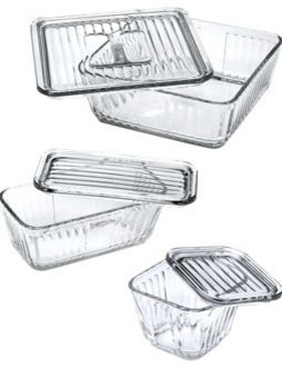Glass Storage Dishes traditional food containers and storage