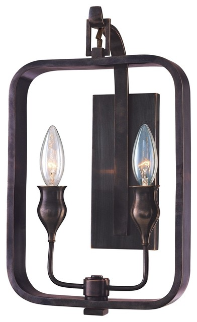 Hudson Valley Rumsford Old Bronze ADA Compliant Wall Sconce traditional-wall-sconces