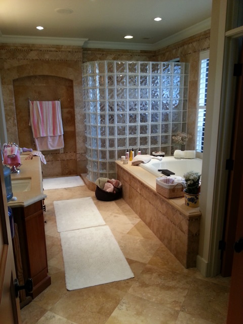 finished jobs traditional-bathroom