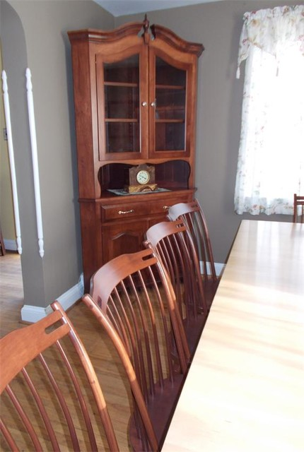 Maple Wood Dining Room Set traditional-dining-chairs