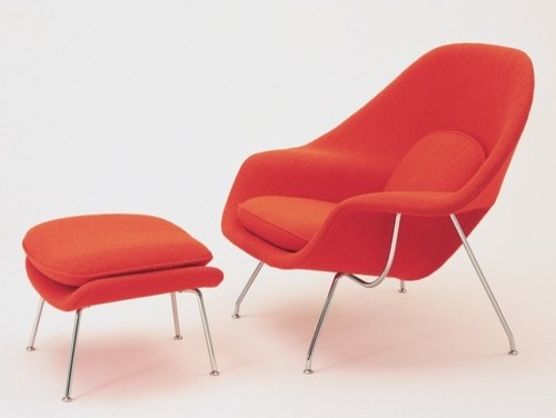 Womb Chair and Ottoman - Customized modern chairs