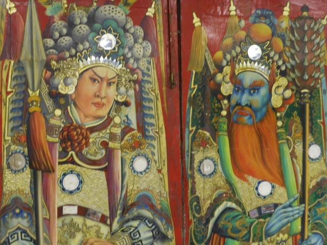 Green Antiques - Chinese Antique Doors - For Sale! asian-interior-doors
