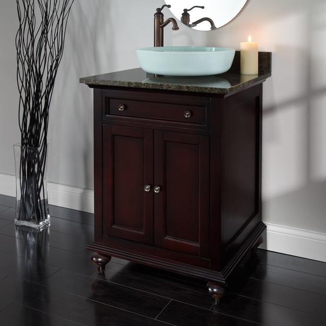 Cabinet For Vessel Sink : ... Vessel Sink Vanity contemporary-bathroom-vanities-and-sink-consoles