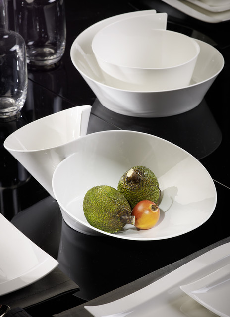 villeroy boch new wave dinnerware contemporary dinnerware new york by villeroy boch. Black Bedroom Furniture Sets. Home Design Ideas