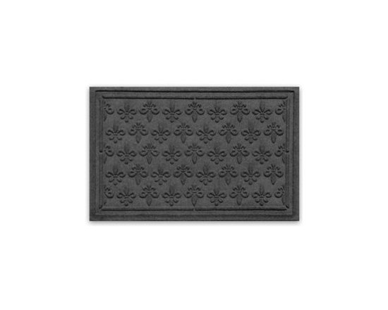 Balsam Hill Fleur De Lis StormGuard™ Mat - SUPERB STYLE AND SAFETY WITH BALSAM HILL'S FLEUR DE LIS STORMGUARD™ MAT |