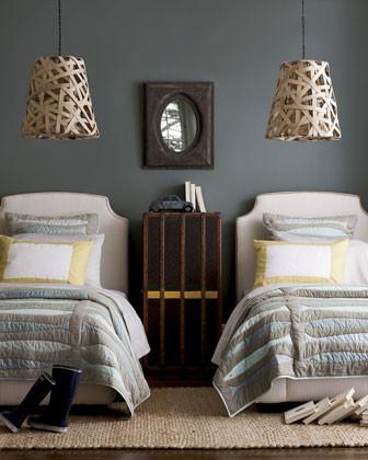Fisherman's Quarters Bed Linens Full Ticking-Stripe Sheet Set traditional-sheets