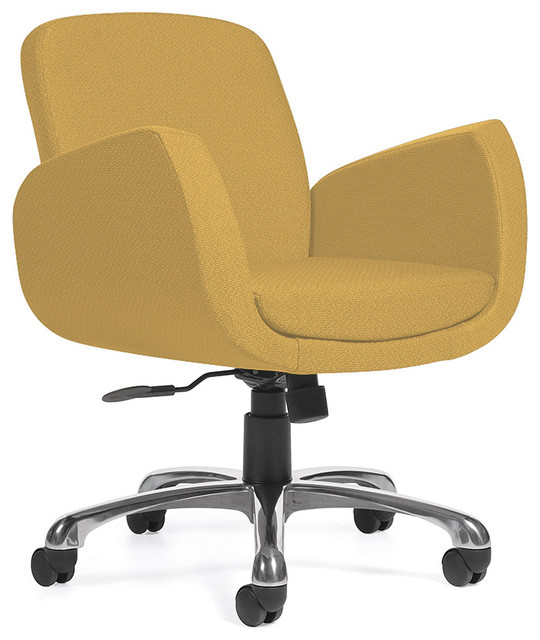 Uphostered office chair contemporary office chairs for Contemporary office chairs modern