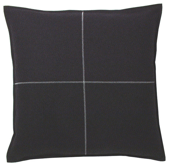 Designer's Eye - Cross Pillow modern-decorative-pillows