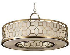 Allegretto 780340 Drum Pendant eclectic pendant lighting