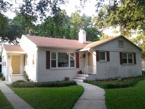 Need help w exterior paint color for mid century florida home for Florida exterior paint colors