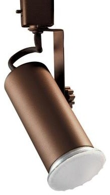 Designers Choice Collection Universal Line Voltage Oil Rubbed Bronze Track Light contemporary-track-heads-and-pendants