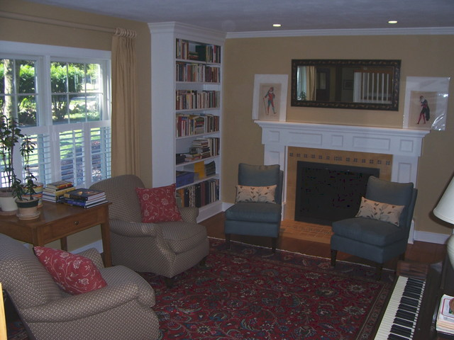 Fairfield County Simple Elegance traditional-living-room