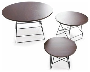 Innovation USA   Grid Tables, Set of 3 modern-coffee-tables