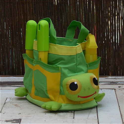 Tootle Turtle Tote Set in Easy Gifts eclectic-gardening-tools