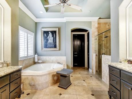 Province Lane Remodel in Southlake, TX eclectic-bathroom