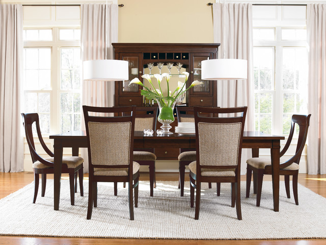 furniture abbott place dining room collection contemporary dining sets