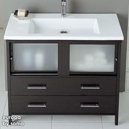 Europa Air Bathroom Vanity contemporary bathroom vanities and sink consoles